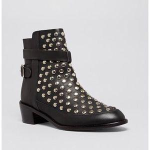 Loeffler Randal Federica Studded Short Boots, 7.5